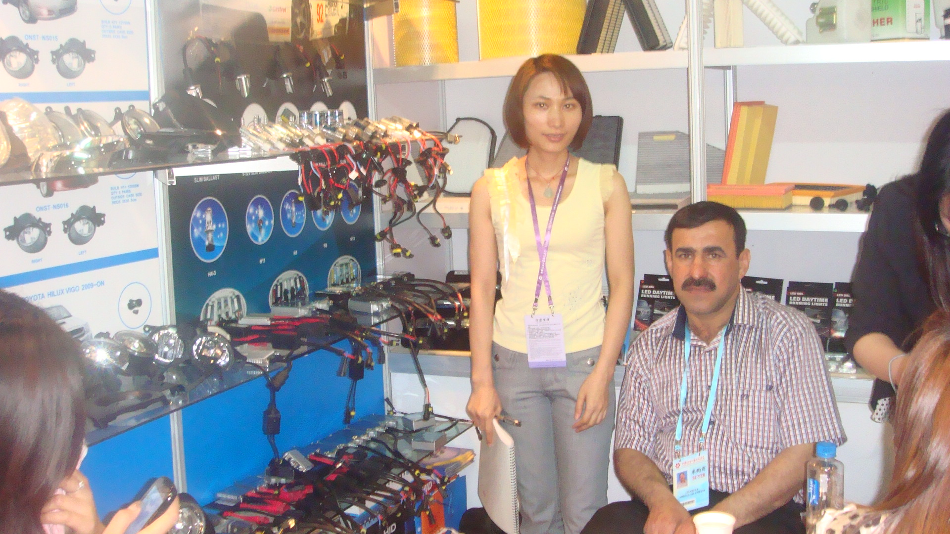 We attended 109th spring canton fair at 2011